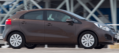 2012 Kia Rio 5-door brown