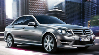2012 Mercedes-Benz C-Class sedan silver