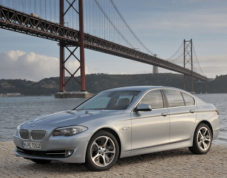 2013 BMW ActiveHybrid 5 Golden Gate Bridge