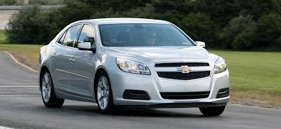 2013 Chevrolet Malibu Eco Silver