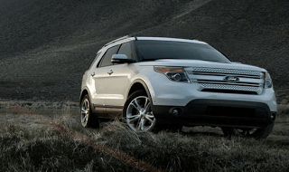 2013 Ford Explorer White