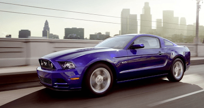 2013 Ford Mustang GT 5.0 Blue