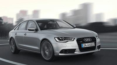 2012 Audi A6 silver