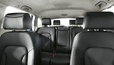 2012 Audi Q7 Cabin