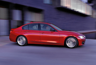 2012 BMW 3-Series Red