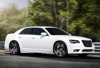2012 Chrysler 300 SRT8 White