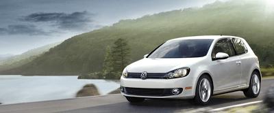 2012 Volkswagen Golf Three Door White