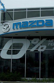 Mazda 0% interest advertising