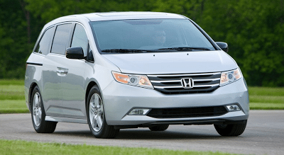 2012 Honda Odyssey silver