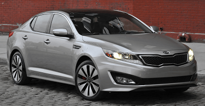 2012 Kia Optima grey