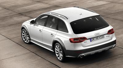 2013 Audi A4 Allroad quattro white rear view