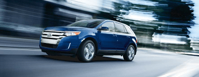 2013 Ford Edge Limited FWD Blue