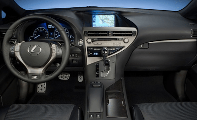 2013 Lexus RX350 F Sport Interior