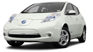 2012 Nissan LEAF white