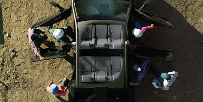 2012 Toyota Tundra Crewmax cabin