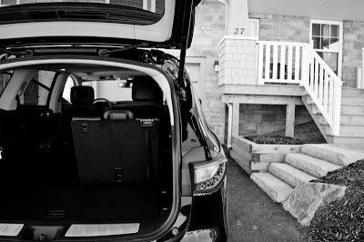 2013 Infiniti JX35 cargo area