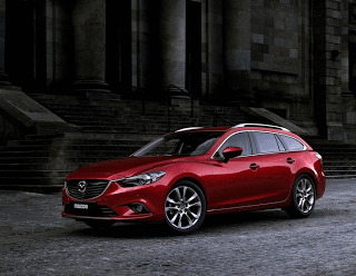 2013 Mazda 6 wagon red