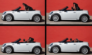 2013 Mini Roadster top operation