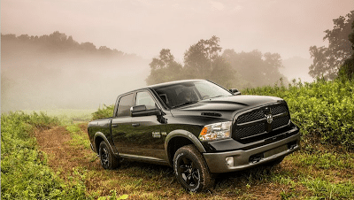 2013 Ram 1500 Black and grey