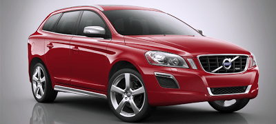 2013 Volvo XC60 Red