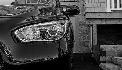 2013 Infiniti JX35 headlight