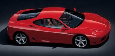 2001 Ferrari 360 Modena Red