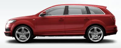 2012 Audi UK Q7 Red