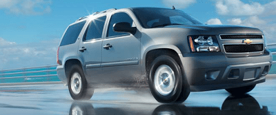 2012 Chevrolet Tahoe LT Silver ice metallic