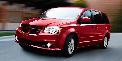 2012 Dodge Grand Caravan red