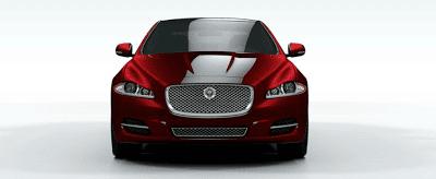 2012 Jaguar XJ regular wheelbase red