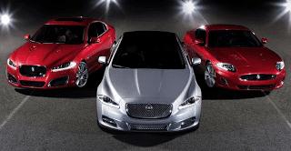 Jaguar XK, XJ, XF