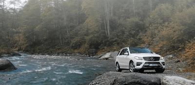 2012 Mercedes-Benz M-Class white