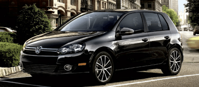 2012 Volkswagen Golf 5-door black