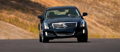 2013 Cadillac ATS cornering