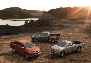 2013 Chevrolet Colorado family