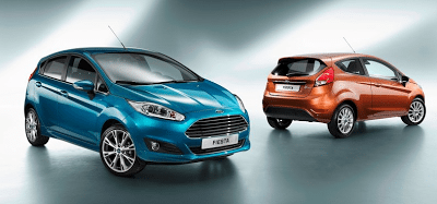 2013 Ford Fiesta three and five door