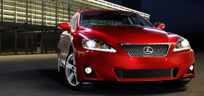 2013 Lexus IS red mica