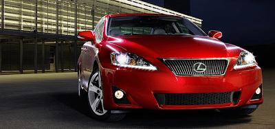 2013 Lexus IS red mica