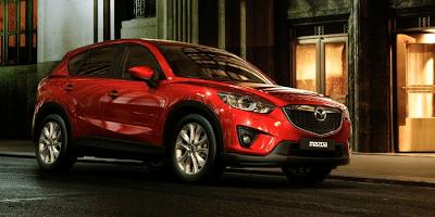 2013 Mazda CX-5 red