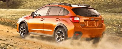 2013 Subaru XV Crosstrek off road