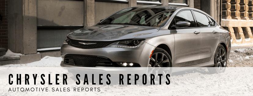 Chrysler Brand Sales Reports