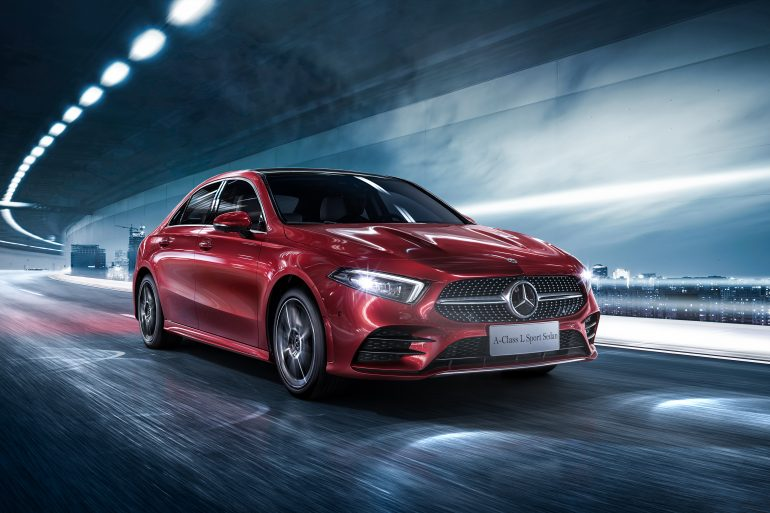 US Mercedes-Benz Sales Figures