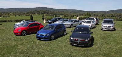 Volkswagen full line