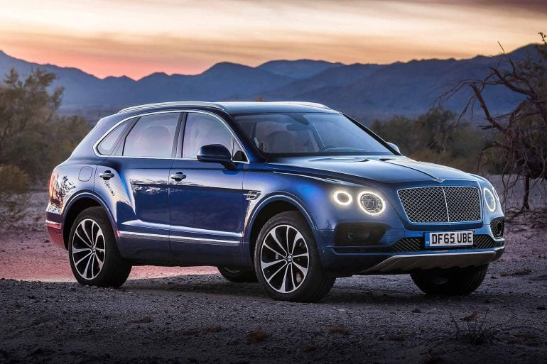 bentley sales figures us