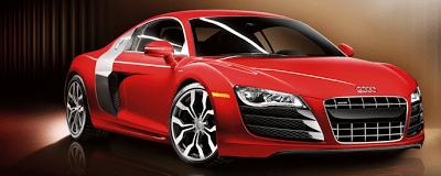 2012 Audi R8 4.2 red