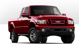 2012 Ford Ranger red