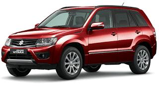 2012 Suzuki Grand Vitara Phoenix Red