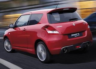 2012 Suzuki Swift Sport Red