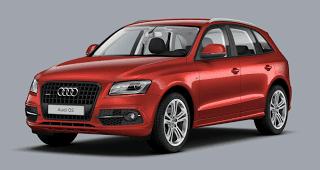 2013 Audi Q5 red