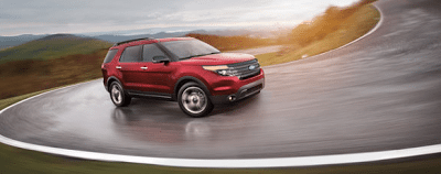 2013 Ford Explorer Sport Ruby red metallic